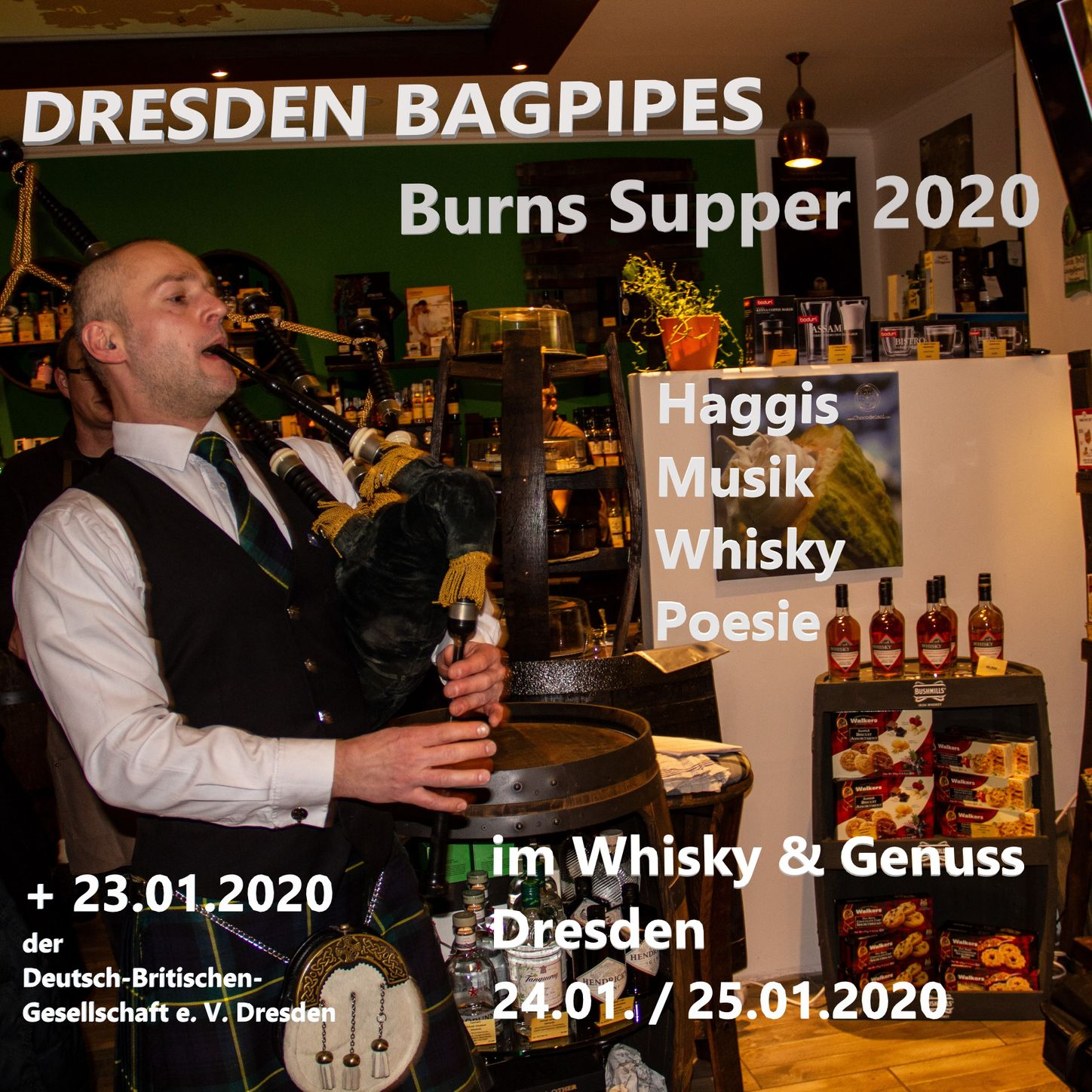 Burns Supper 2020 Dresden